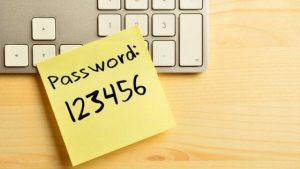 Password insicura 123456