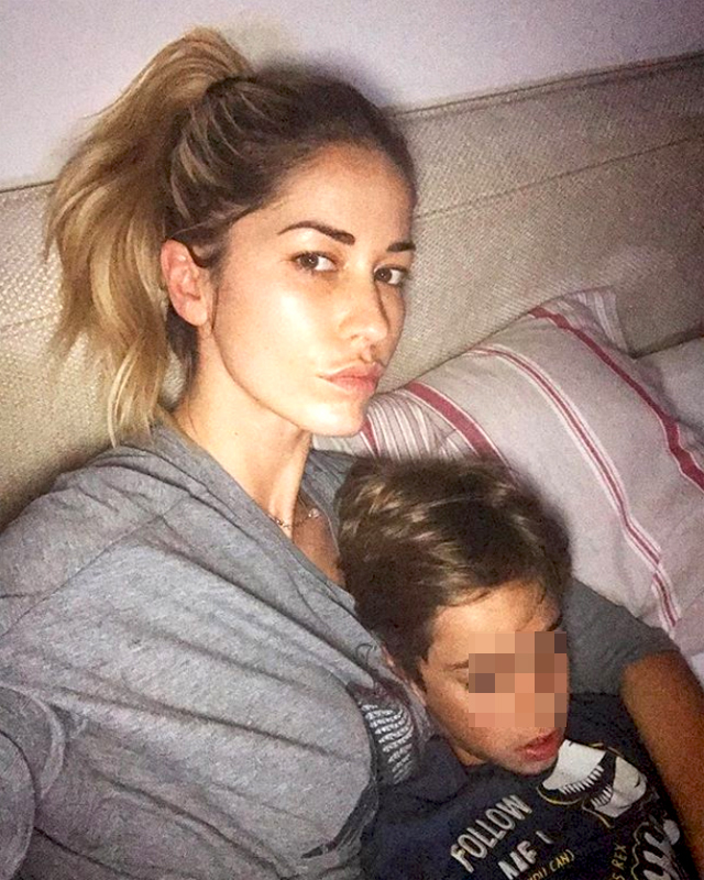 Elena Santarelli figlio malattia