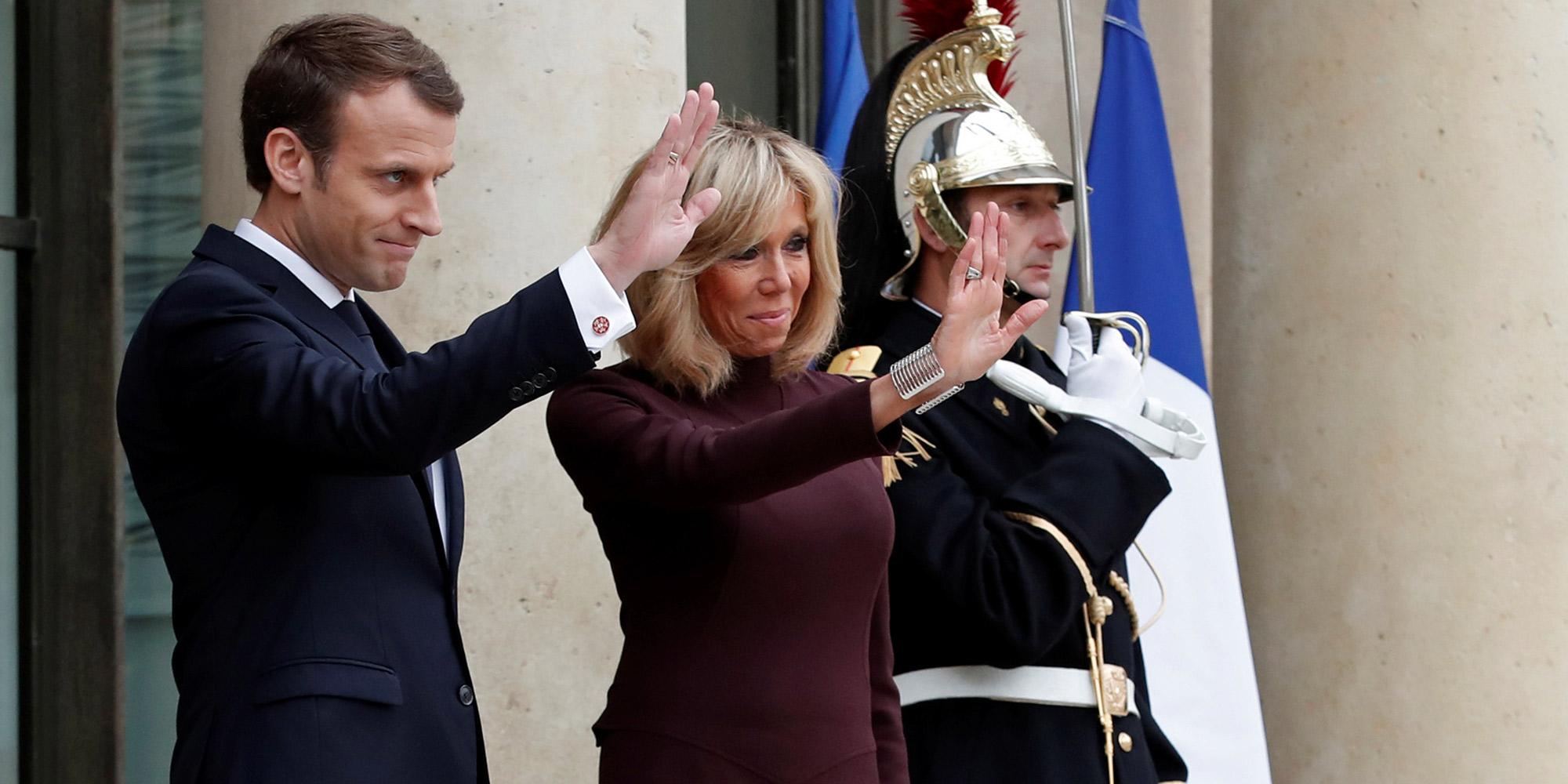 Emmanuel Macron compleanno Chambord castello