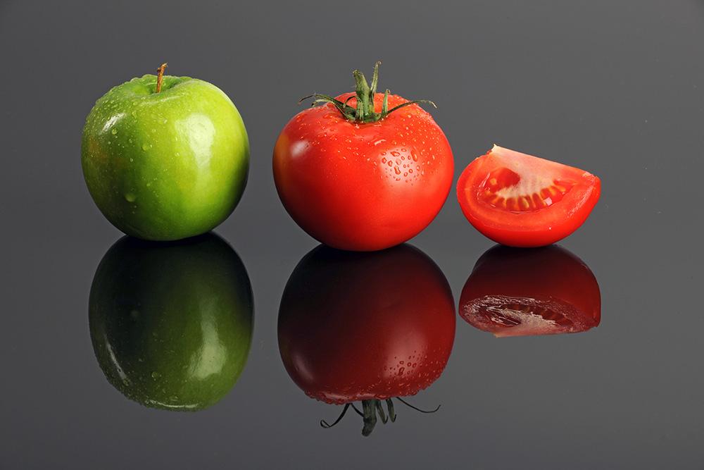 Pomodori mele polmoni dieta