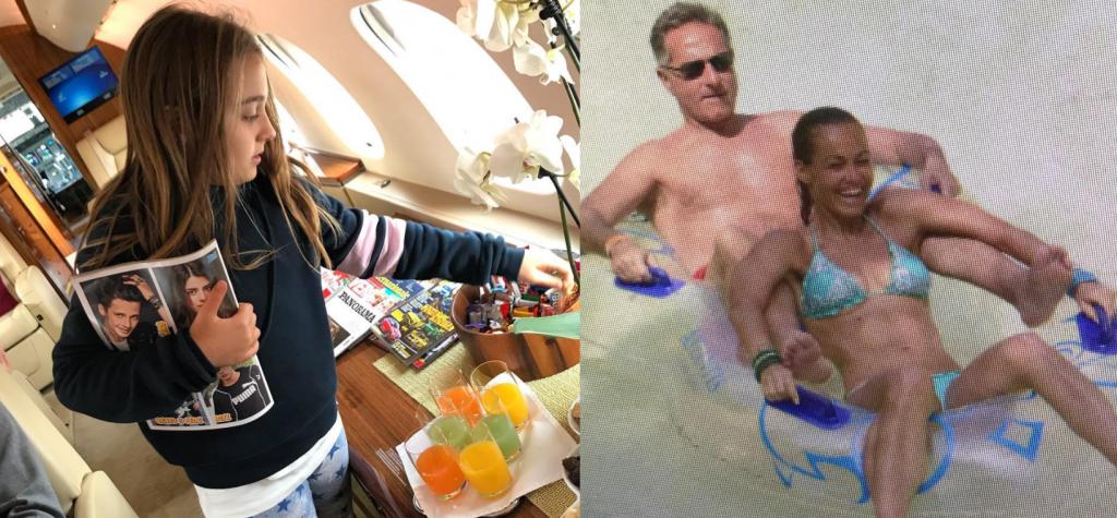 Sonia Bruganelli figlia jet Bonolis Instagram