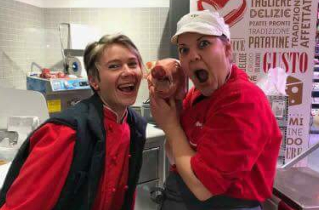 Tivoli Carrefour agnello selfie