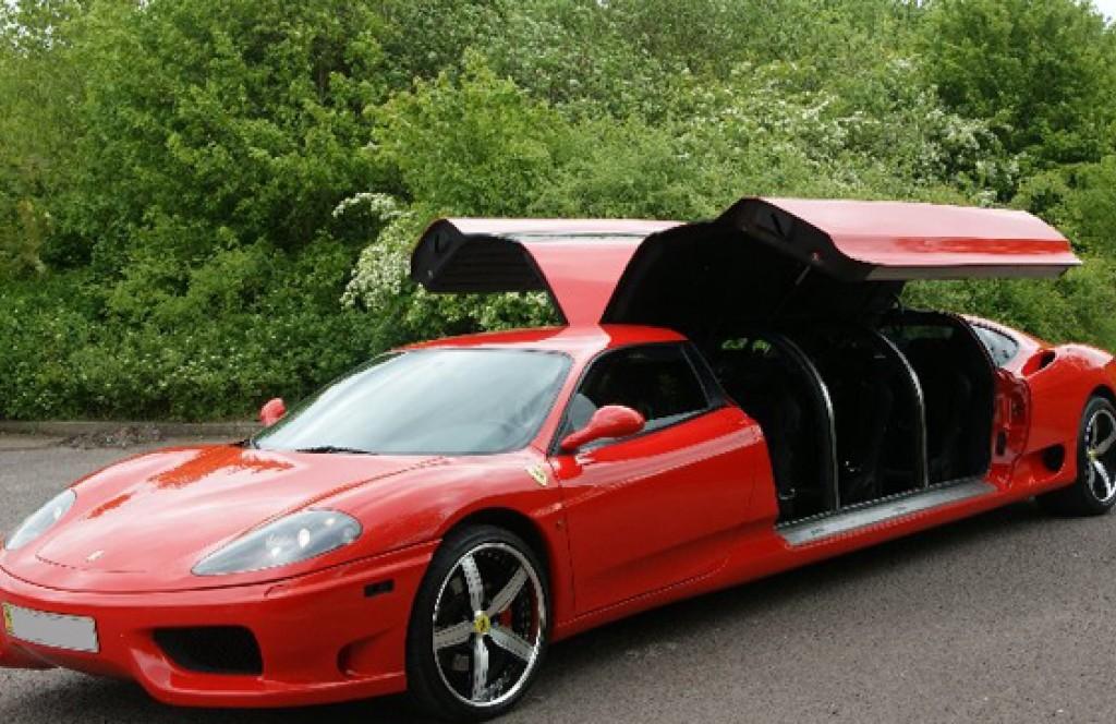 Ferrari Dan Cawley limousine