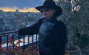 Lady Gaga ricorda origini italiane a Milano