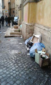 Roma news rifiuti