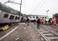 Treno deragliato in Lombardia: 4 vittime e un centinaio di feriti