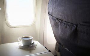 Caffè aereo volo disturbi