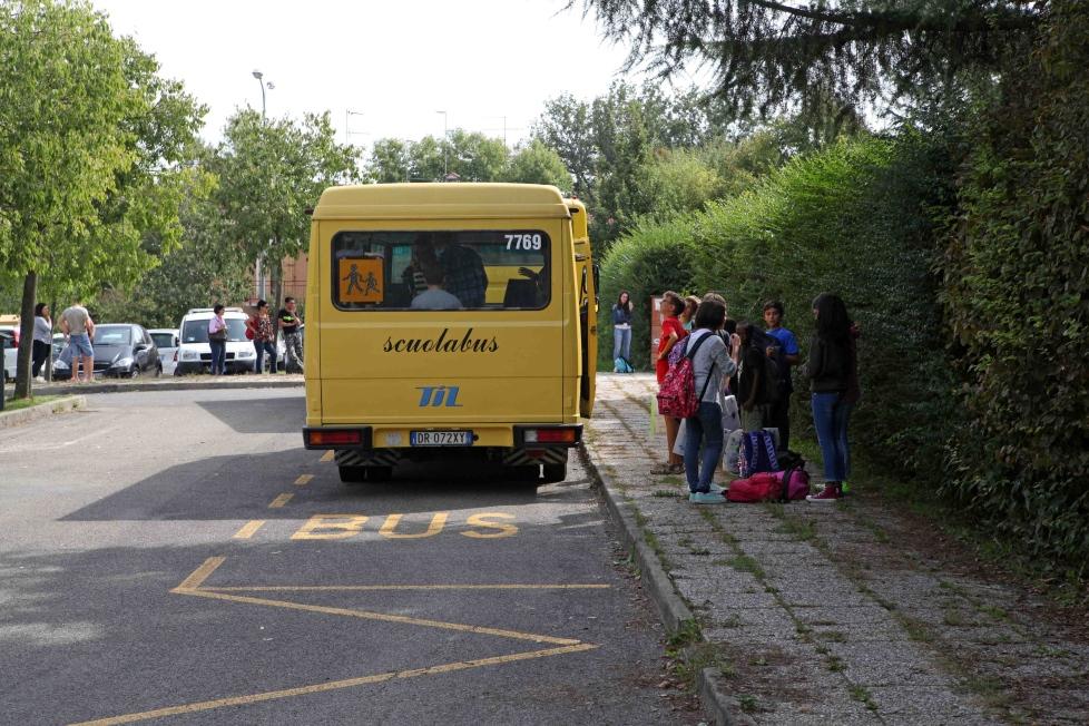 Mantova scuolabus Castellucchio