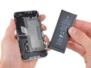 iPhone batteria sostituzione