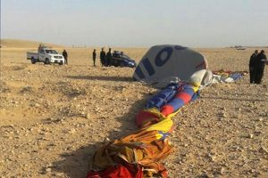 Mongolfiera incidente Egitto