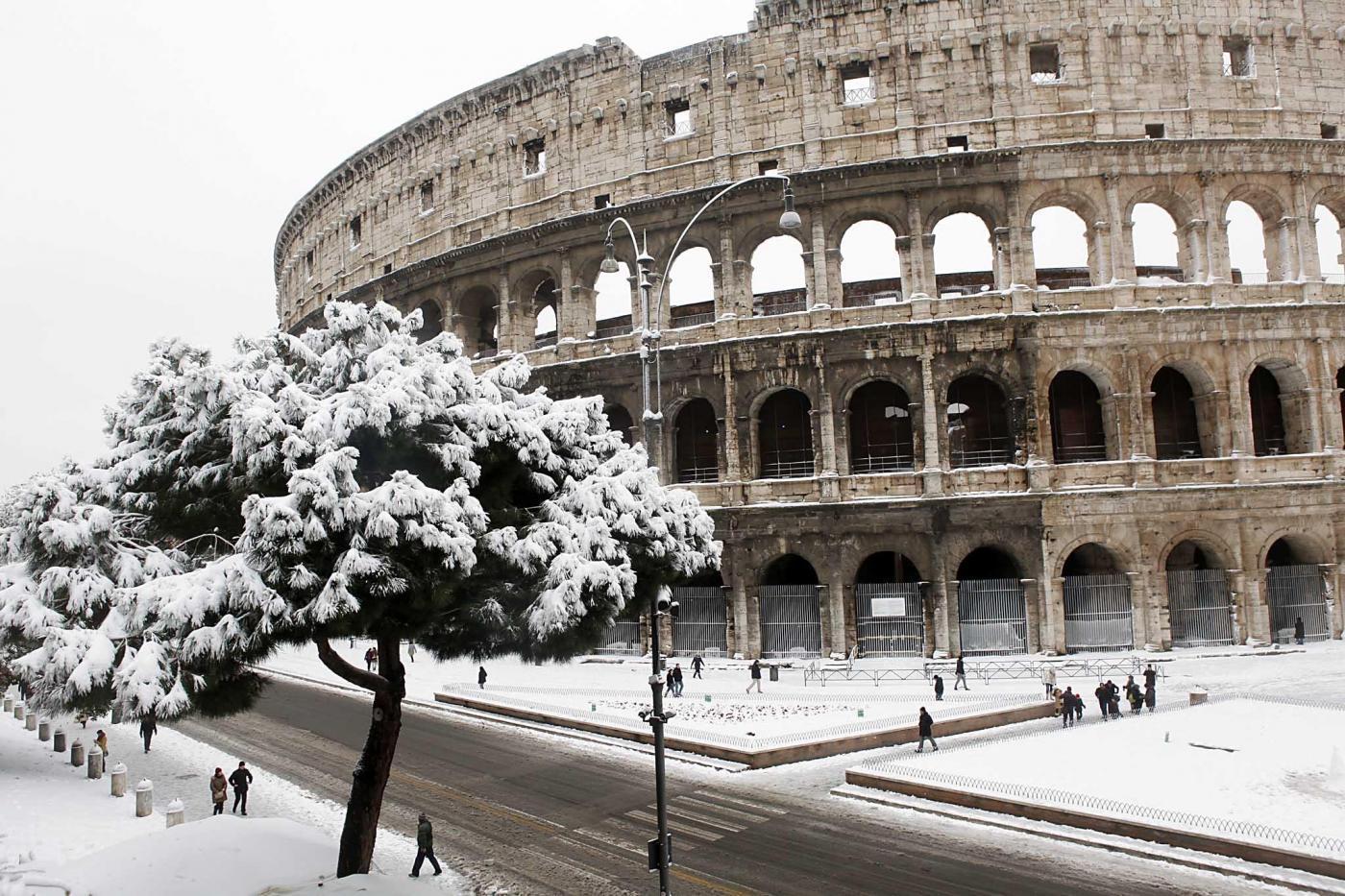 neve-roma-centro-litorale-periferie