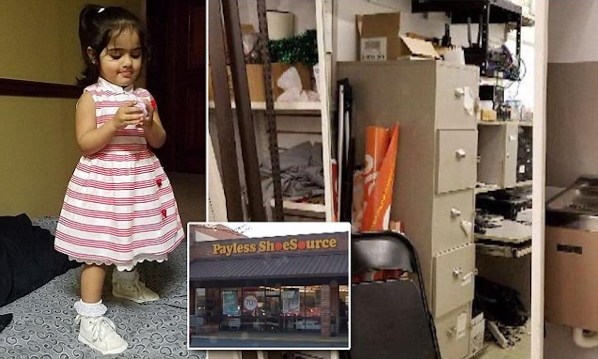 Mirror falls and kills 2-year-old girl: fear in the shoe store