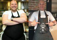 chef stellato perde 70 kg in 3 anni