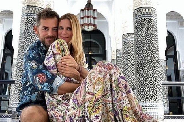 Daniele Bossari e Filippa Lägerback, viaggio di nozze con polemica