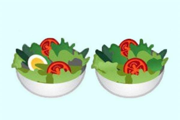 Emoji Google, insalata diventa vegana