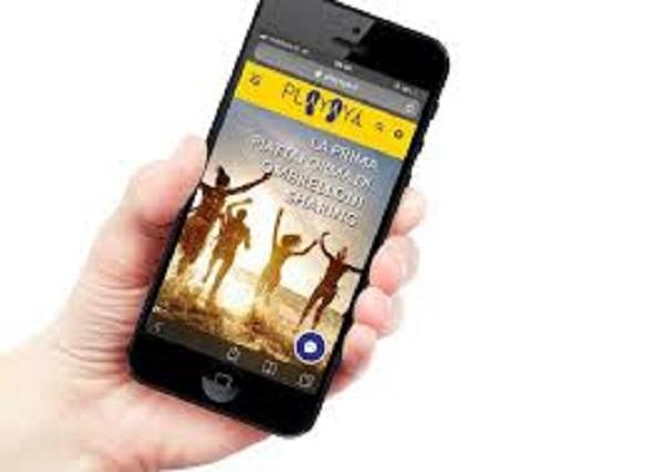 Playaya, prima app per fare ombrellone sharing