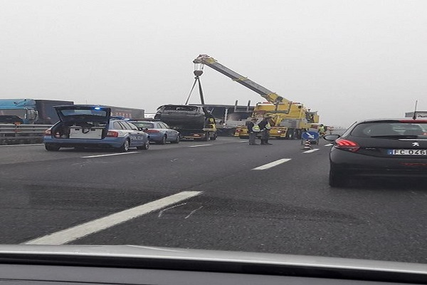Incidente stradale oggi Autostrada A4 tra Grisignano e Padova Ovest, due morti