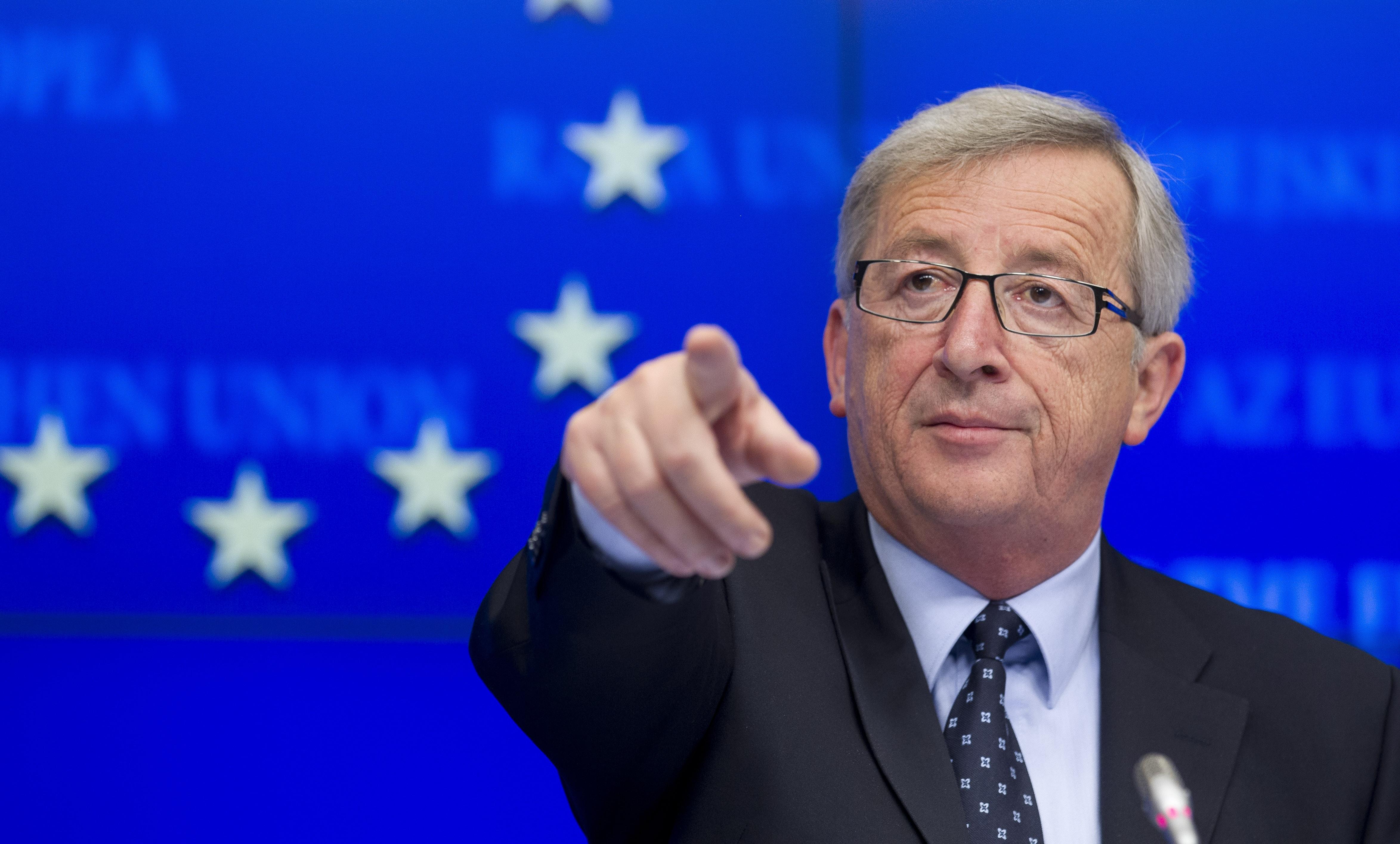 Juncker a Conte: allibito da attacchi di Salvini