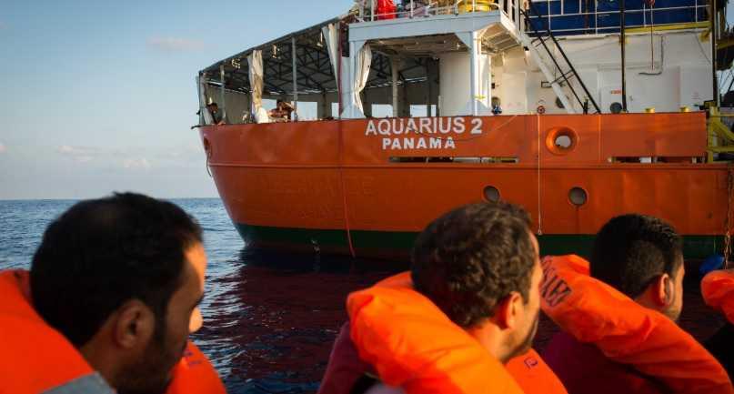 Aquarius 2: i migranti sbarcheranno in tre paesi europei