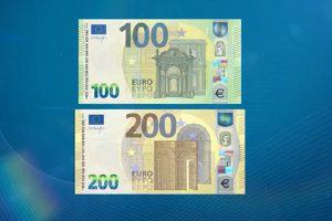 nuove banconote da cento e duecento euro