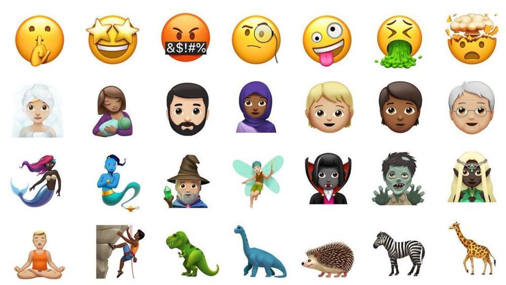 iOS 12.1: in arrivo 70 nuove emoji