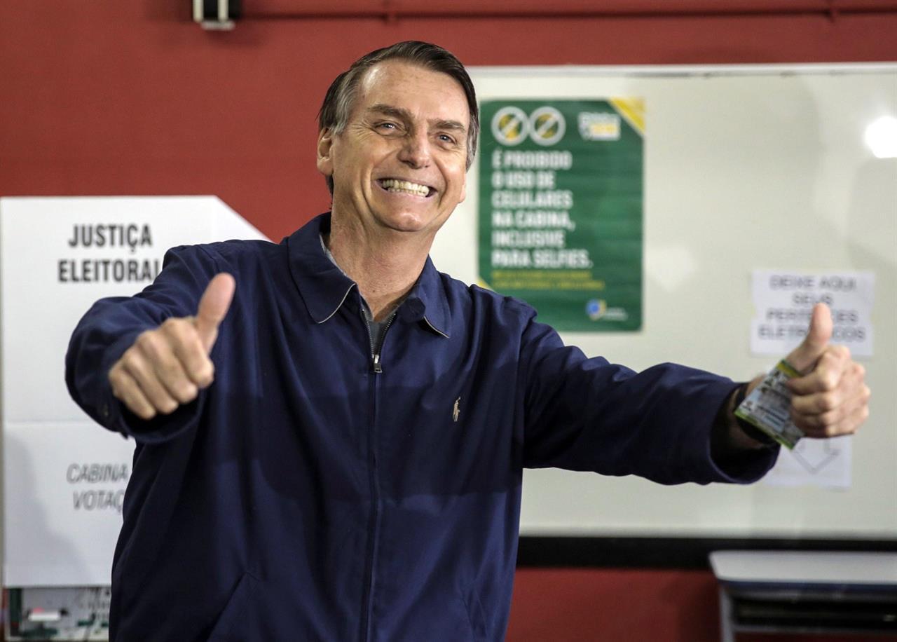 Elezioni Brasile: Bolsonaro vince ma si va al ballottaggio