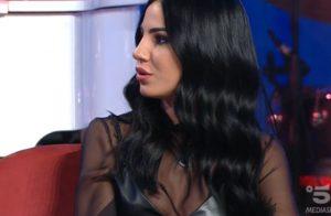 Giulia De Lellis al Maurizio Costanzo Show, l'attacco per Amatrice