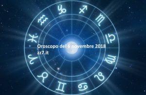 oroscopo di domani 6 novembre