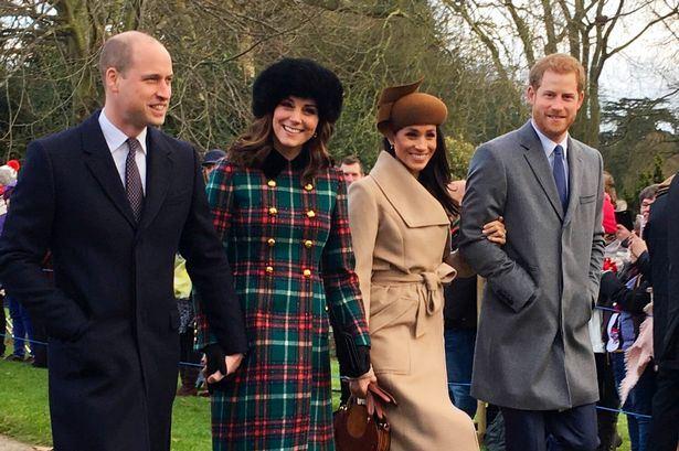 Natale in famiglia per William e Kate insieme a Meghan e Harry