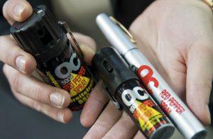 Spray peperoncino legge