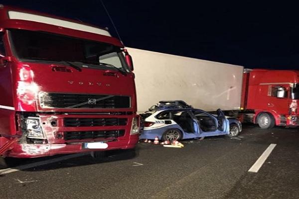 Catania incidente stradale sull'A18, morto un poliziotto