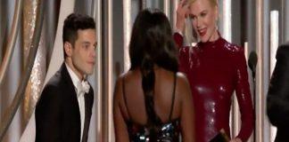 Rami Malek dopo i Golden Globes commenta la figuraccia con Nicol Kidman