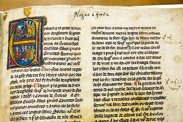 magna carta cenni storici curiosità