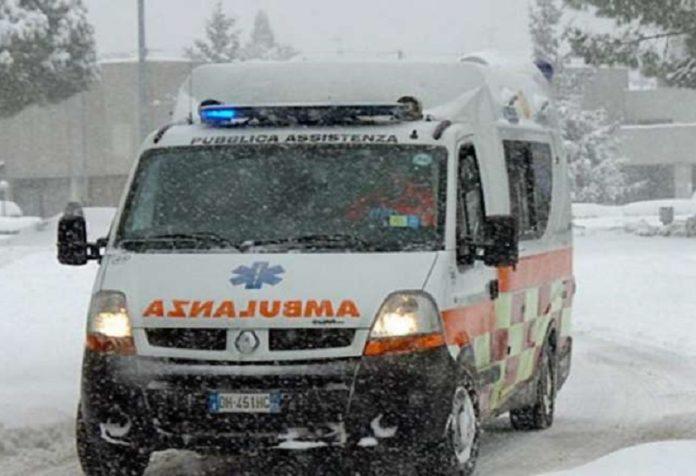 Ambulanza ritarda per neve muore Giuseppe Martinelli