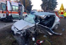 santa-fiora-incidente-auto-camion-ferito