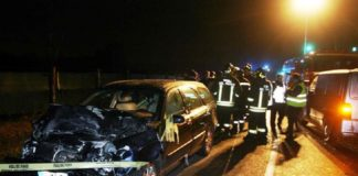incidente stradale nichelino