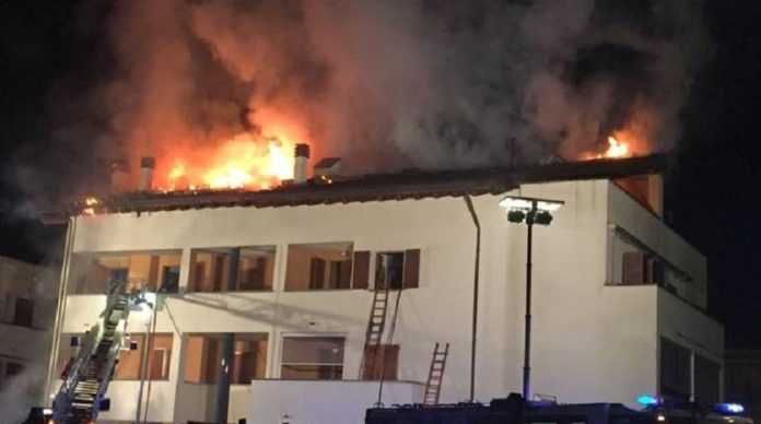 morto cupello incendio