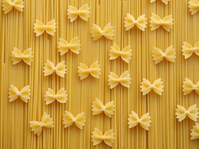 formato di pasta venduto spaghetti