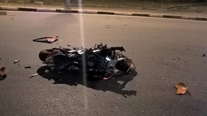 Motociclista morto via bobbio