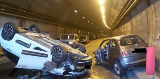 incidente galleria spoleto