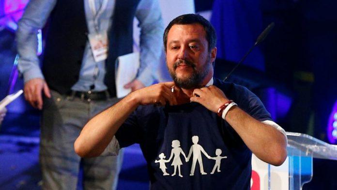 Matteo Salvini Congresso di Verona